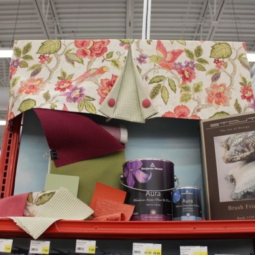 Paint, Wall Paper, Fabrics and more!