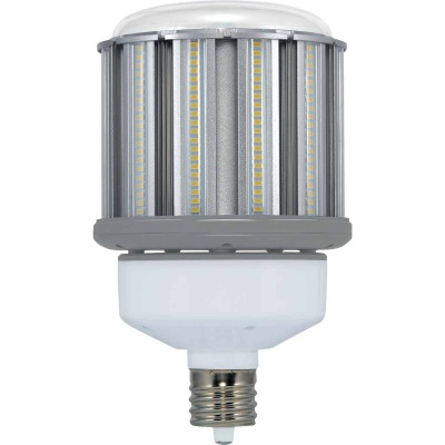 Satco Hi-Pro 80W Clear Corn Cob Mogul Base LED High-Intensity Replacement Light Bulb