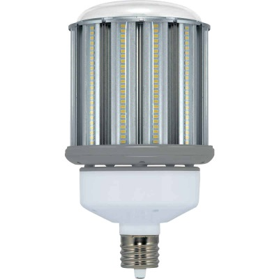 Satco Hi-Pro 120W Clear Corn Cob Mogul Base LED High-Intensity Replacement Light Bulb