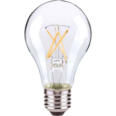 Satco 60W Equivalent Medium Warm White A19 LED Light Bulb