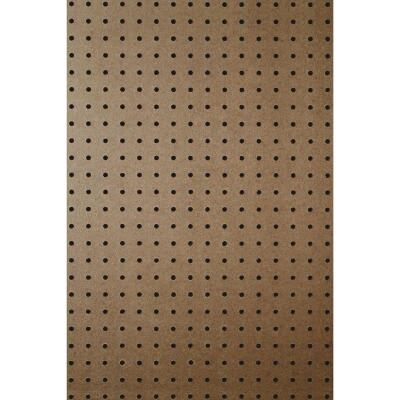 DPI 4 Ft. x 8 Ft. x 1/4 In. Brown Green Core Hardboard Pegboard