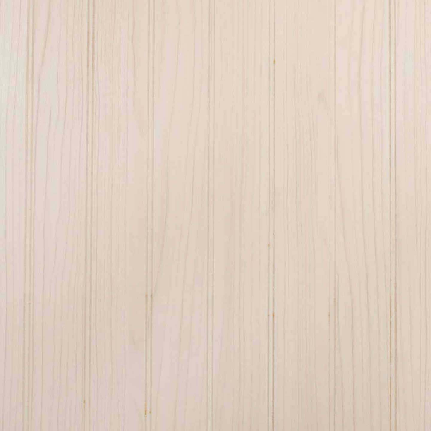 Global Product Sourcing 4 Ft. x 8 Ft. x 1/8 In. Light House White Beaded Profile Wall Paneling Image 1