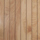 Global Product Sourcing 4 Ft. x 8 Ft. x 1/8 In. Natural Birch Beaded Profile Wall Paneling Image 1