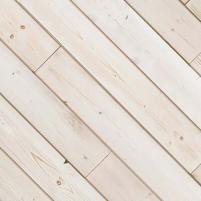 Global Product Sourcing 3-1/2 In. W. x 1/4 In. Thick Solid Wood White Reclaimed Wood Wall Plank