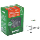 Spax #8 x 2-1/2 In. Flat Head Exterior Multi-Material Construction Screw (1 Lb. Box) Image 1
