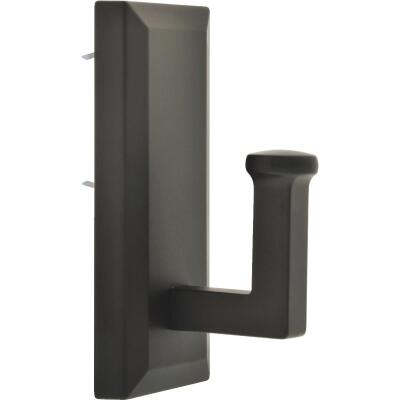Hillman High and Mighty 25 Lb. Capacity Oil Rubbed Bronze Rectangular Decorative Hook