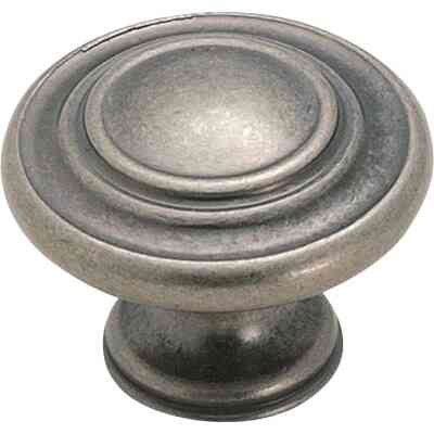 Amerock Inspirations Weathered Nickel 1-3/8 In. Cabinet Knob