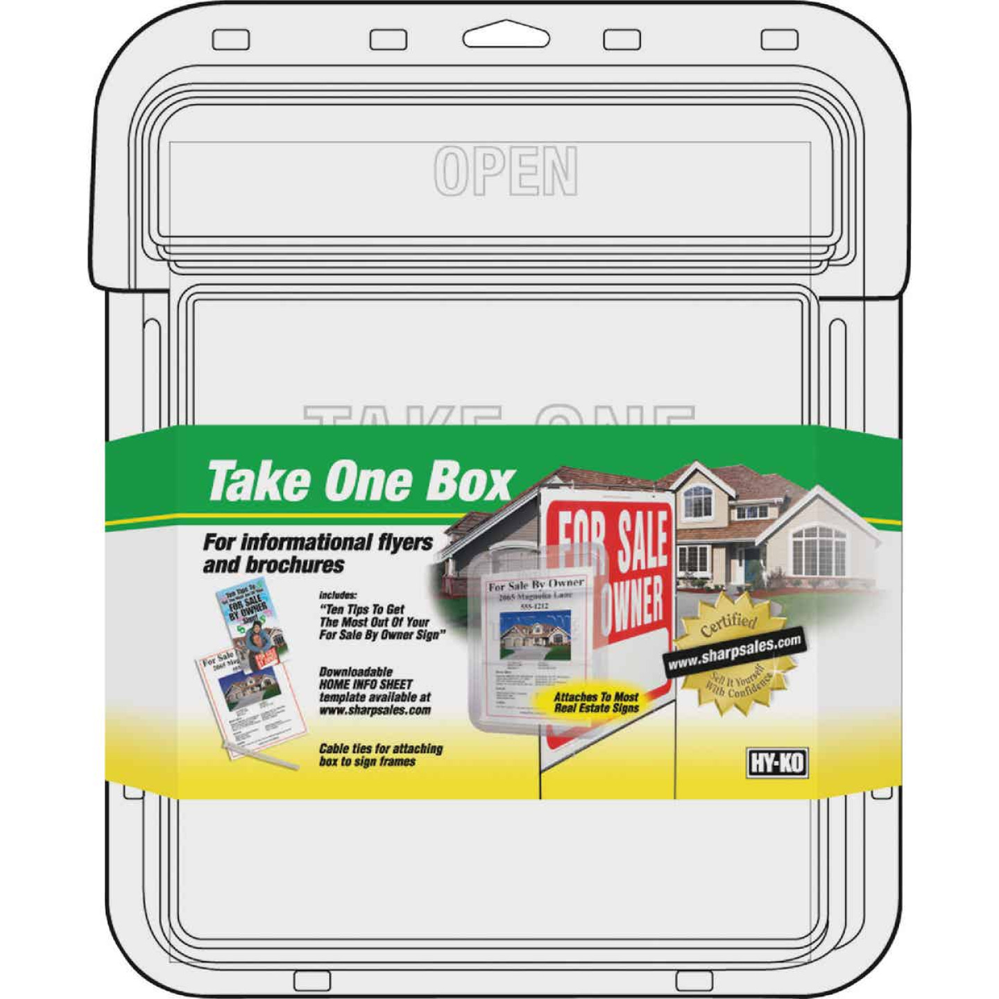 Hy-Ko Clear Take One Box Image 1