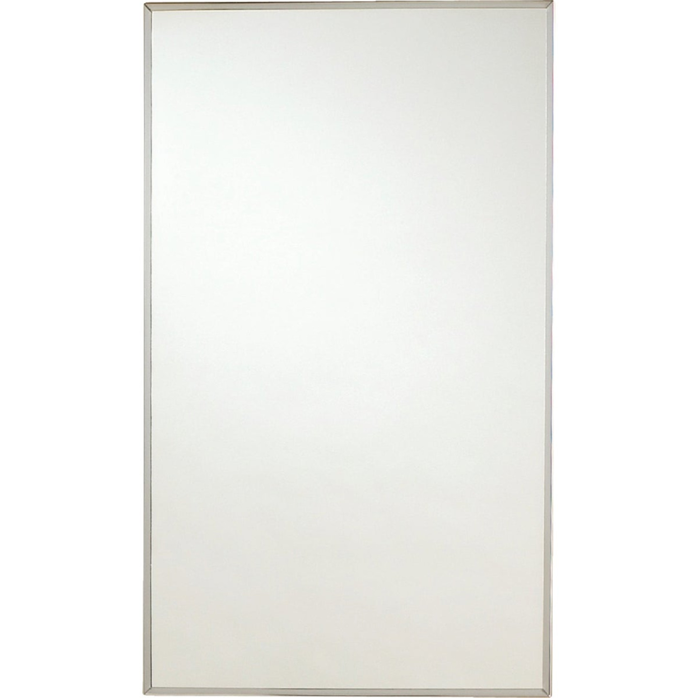 Zenith Stainless Steel 13 5 In W X 23 5 In H X 3 5 In D Single Mirror Surface Recess Mount Medicine Cabinet Connolly S