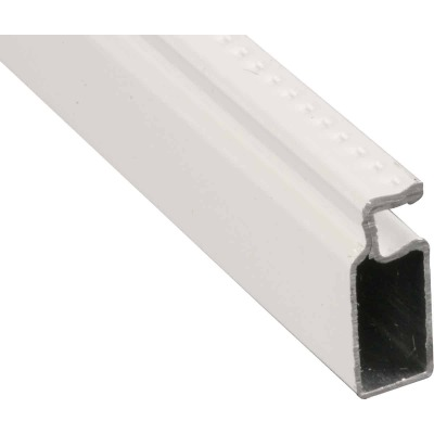Prime-Line Make-2-Fit 3/4 x 5/16 x 146 White Aluminum Screen Frame