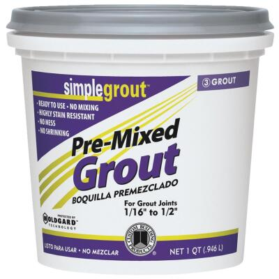 Custom Building Products Simplegrout Quart Sandstone Pre-Mixed Tile Grout