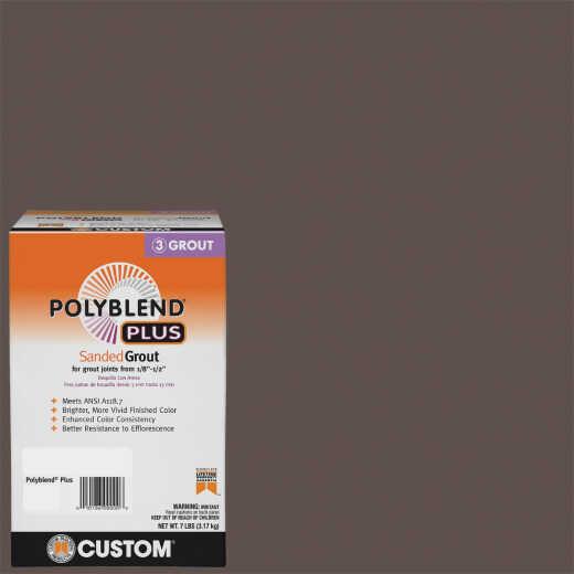 Custom Building Products PolyBlend PLUS 7 Lb. Brown Velvet Sanded Tile Grout