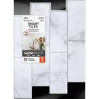 Smart Tiles Approx. 9 In. x 11 In. Glass-Like Vinyl Backsplash Peel & Stick, Metro Carrera Subway Tile Image 2