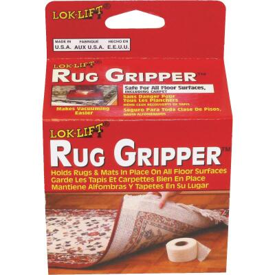 Lok-Lift Rug Gripper 2-1/2 In. x 25 Ft. Nonslip Rug Gripper Tape