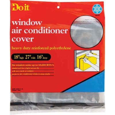 """Do it 18"""" x 27"""" x 16"""" 6 mil Rectangle Air Conditioner Cover"""