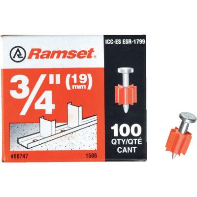 Ramset 3/4 In. Fastening Pin (100-Pack)
