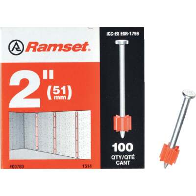 Ramset 2 In. Fastening Pin (100-Pack)