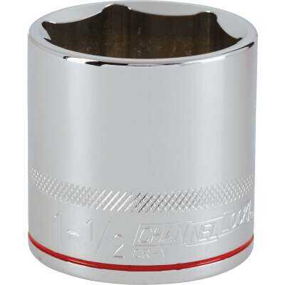 Channellock 1/2 In. Drive 1-1/2 In. 6-Point Shallow Standard Socket