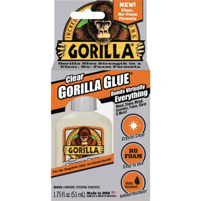 Gorilla 1.75 Oz. Clear All-Purpose Glue