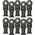 Imperial Blades Starlock 1-3/8 In. 18 TPI Fast Wood Oscillating Blade (10-Pack) Image 1