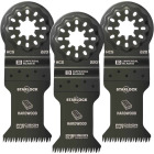 Imperial Blades Starlock 1-3/8 In. 14 TPI Precision Wood Oscillating Blade (3-Pack) Image 1