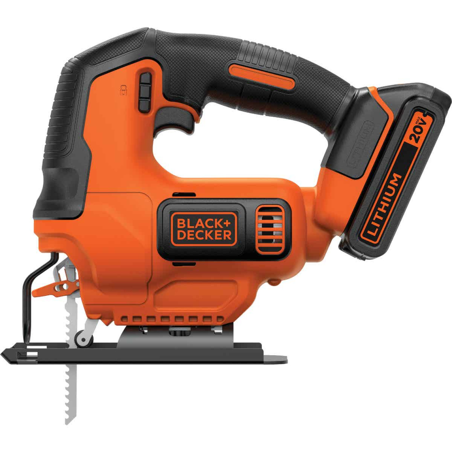 Black & Decker 20 Volt MAX Lithium-Ion 1.5 Ah Cordless Jig Saw Kit Image 5