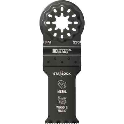 Imperial Blades Starlock 1-1/8 In. 18 TPI Metal/Wood Oscillating Blade