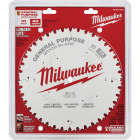 Milwaukee 10 In. 40-Tooth General Purpose Wood Circular Saw Blade Image 2