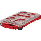 Milwaukee PACKOUT Compact Lo-Profile Small Parts Organizer with 5 Bins Image 1