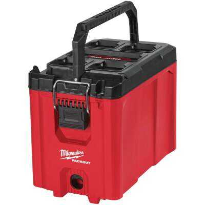 Milwaukee PACKOUT 10 In. Compact Toolbox, 75 Lb. Capacity