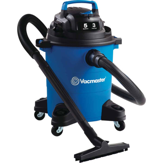 Vacmaster 5-Gallon 3.0 Peak HP Wet/Dry Vacuum