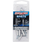 Channellock 3/16 In. to 1/4 In. Dia. x 0.251 In. to 0.500 In. Grip Aluminum POP Rivet (12-Pack) Image 1