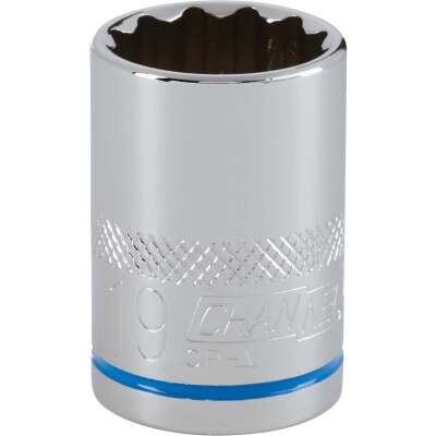 Channellock 1/2 In. Drive 19 mm 12-Point Shallow Metric Socket