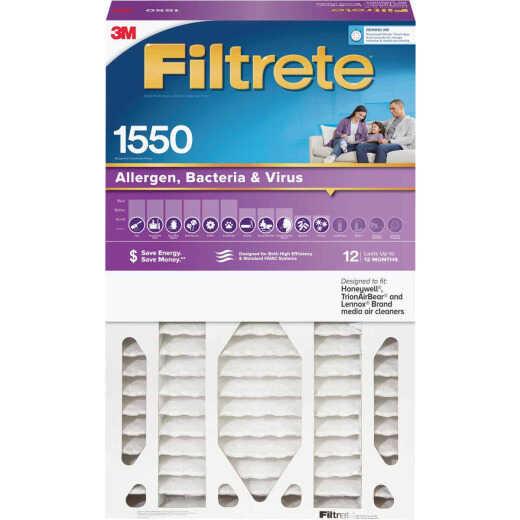 3M Filtrete 16 In. x 25 In. x 5 In. Allergen, Bacteria & Virus 1550 MPR Deep Pleat Furnace Filter