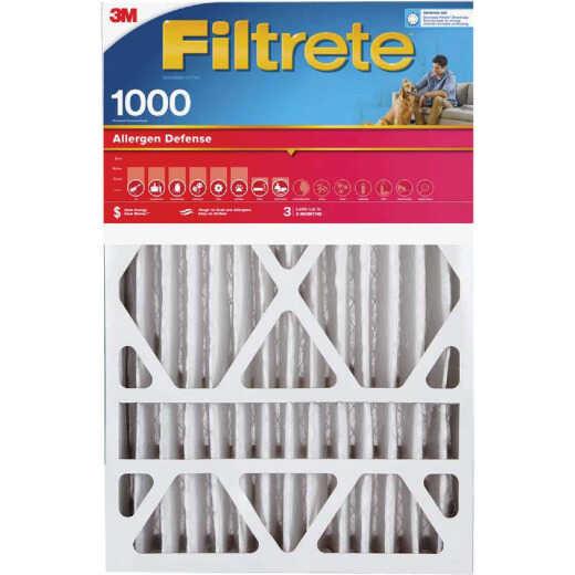 Filtrete 16 In. x 25 In. x 4 In. Allergen Defense 1000 MPR Deep Pleat Furnace Filter