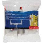 Keeney Insta-Plumb 1-1/2 In. x 16 In. White Plastic Center Outlet Waste Image 2