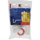Keeney Insta-Plumb 1-1/2 In. White Plastic P-Trap Image 2