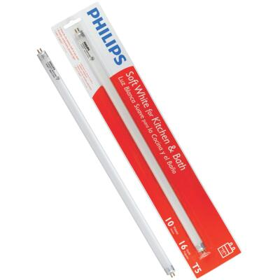 Philips 10W 16 In. Bright White T5 Miniature Bi-Pin Fluorescent Tube Light Bulb