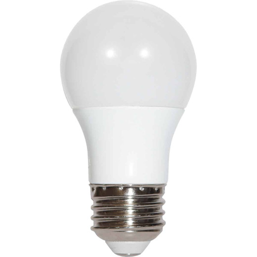 Satco 40W Equivalent Warm White A15 Medium Dimmable LED Light Bulb