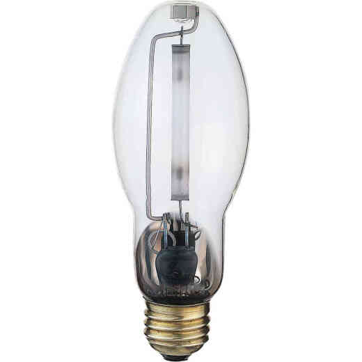 Satco 150W Clear ET23-1/2 Mogul Screw High-Pressure Sodium High-Intensity Light Bulb