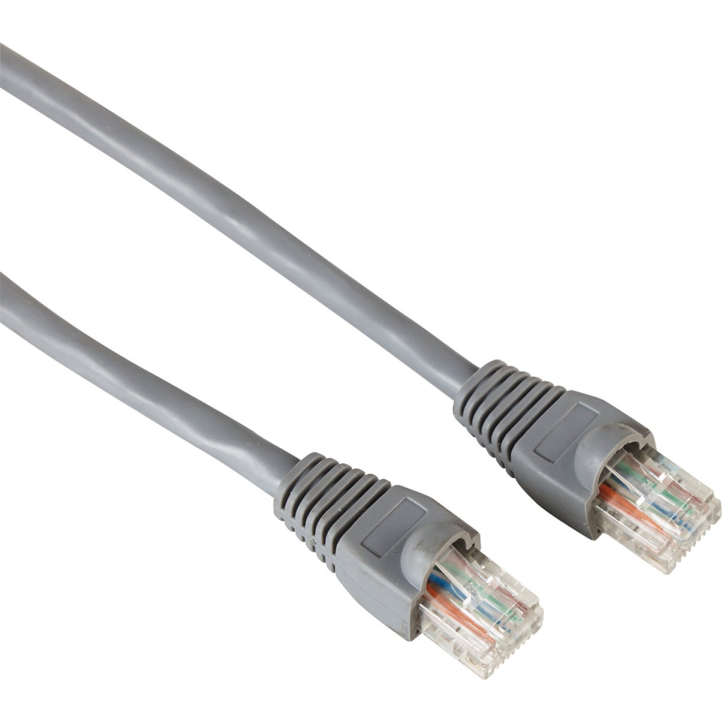 RCA 25 Ft. CAT-6 Gray Network Cable Image 1