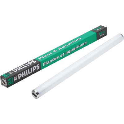Philips 20W 24 In. Warm White T12 Medium Bi-Pin Plant & Aquarium Fluorescent Tube Light Bulb