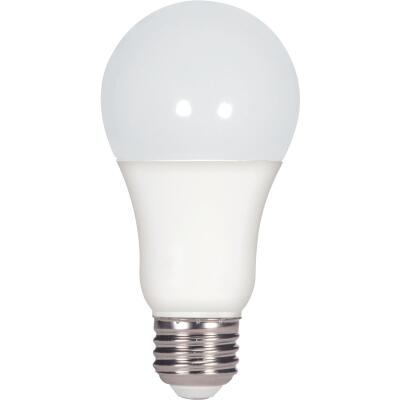 Satco 100W Equivalent Warm White A19 Medium Dimmable LED Light Bulb