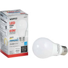 Satco 60W Equivalent Natural Light A19 Medium Dimmable LED Light Bulb Image 1