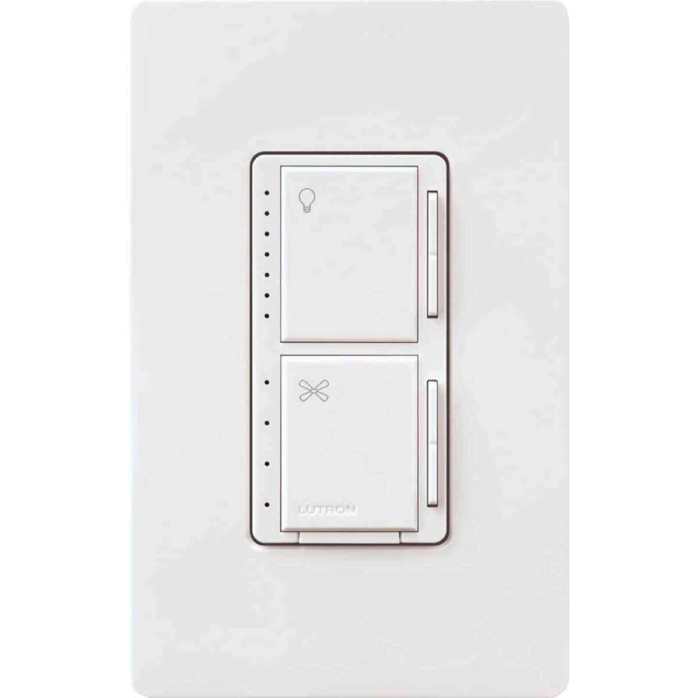 Lutron Maestro White Dimmer & Fan Control Switch Image 6