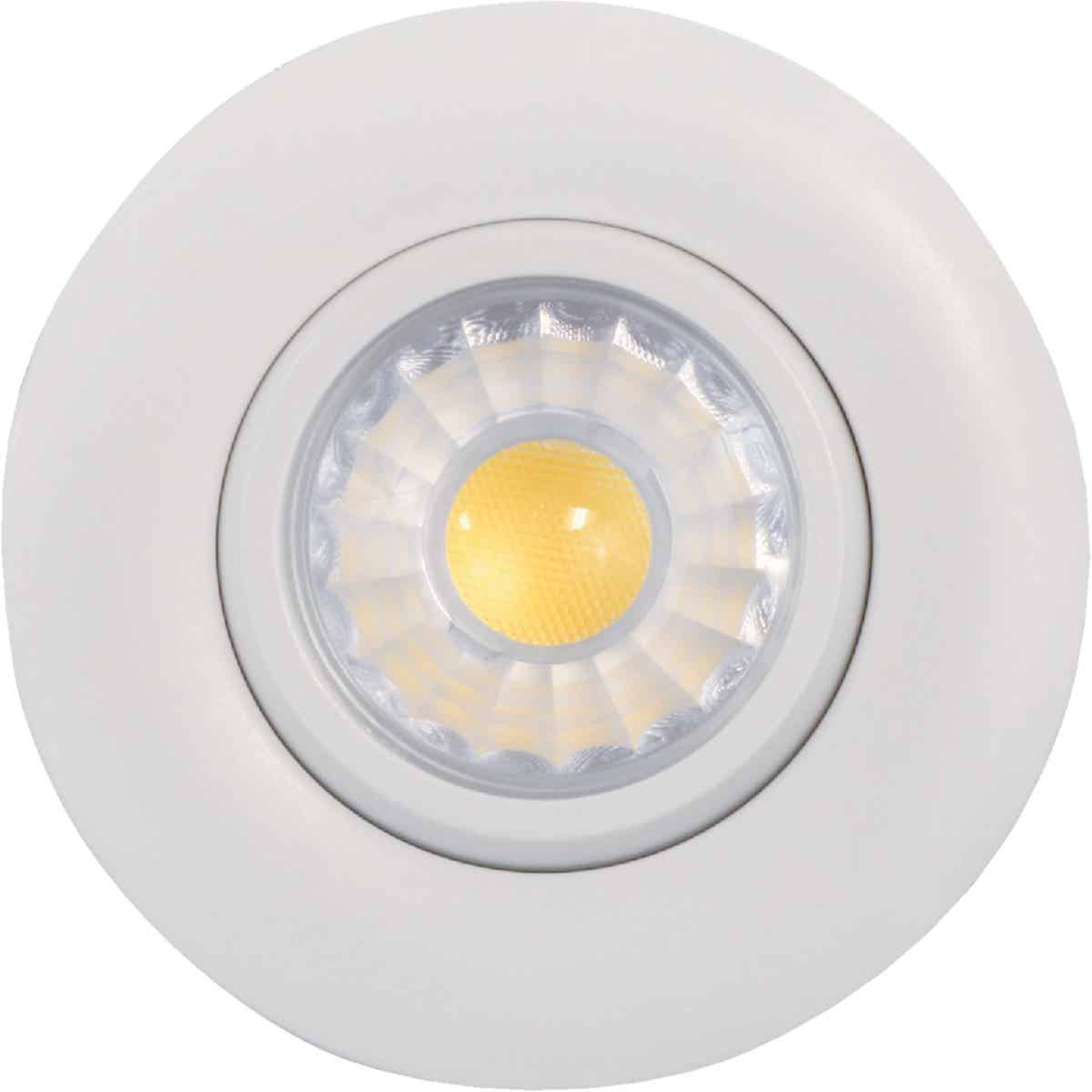 Liteline Trenz Retina 3 In. New Construction/Remodel IC Rated White 4000K Gimbal Recessed Light Kit Image 1