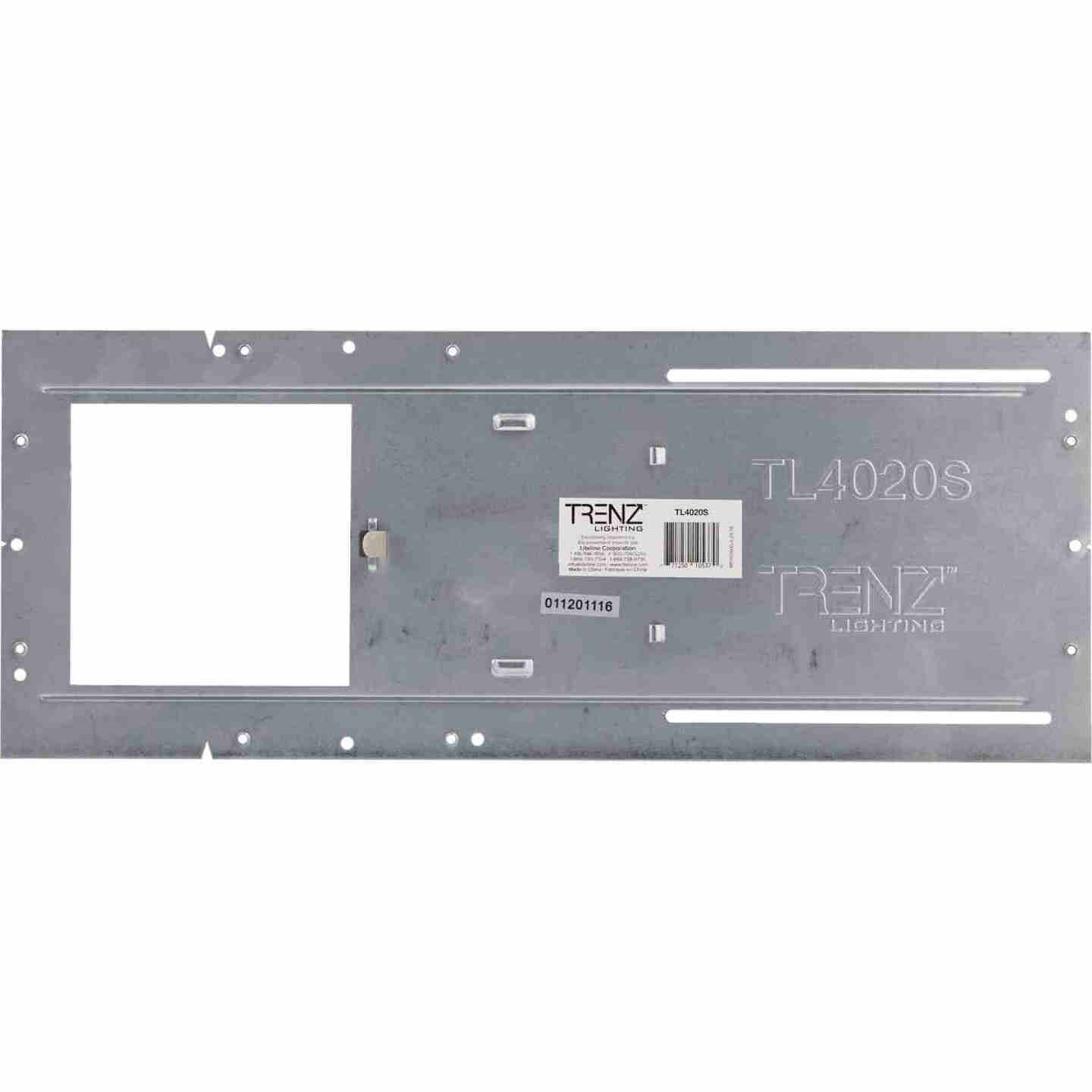Liteline Trenz ThinLED 4 In. Square Recessed Fixture Mounting Plate Image 2