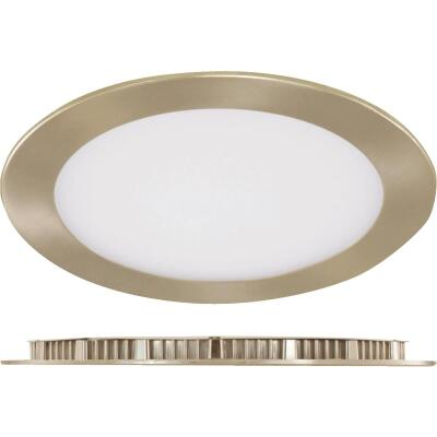 Liteline Trenz ThinLED 6 In. New Construction/Remodel IC Rated Brushed Nickel 820 Lm. 4000K Recessed Light Kit