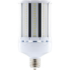 Satco Hi-Pro 100W Clear Corn Cob Mogul Extended Base LED High-Intensity Light Bulb w/Safety Chain Image 1