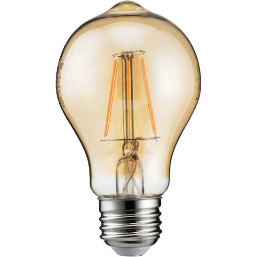 Philips Vintage Edison 60W Equivalent Soft White A19 Medium LED Decorative Light Bulb